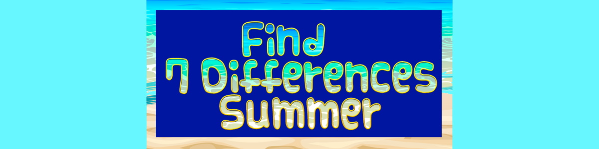 Find 7 differences summer